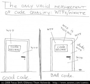 The only valid measure of code quality: WTFs/minute
